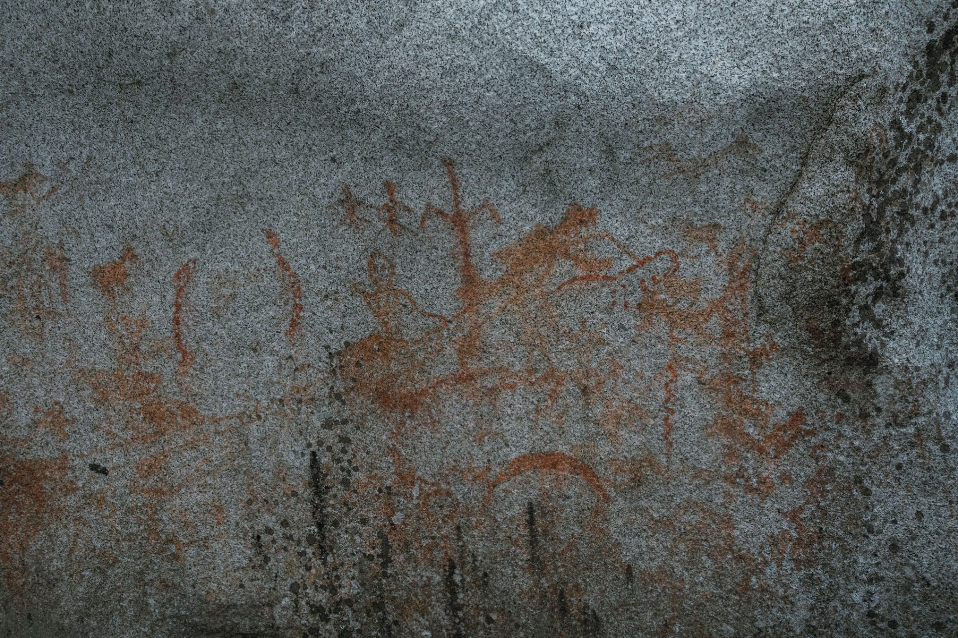 Stòlō nation (People of the River) petroglyphs